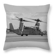 Mv 22 Osprey 05  Throw Pillow