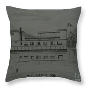 Mv Wanda Sue Throw Pillow