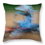 Mx Rider Throw Pillow