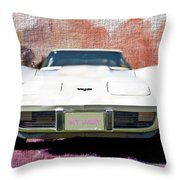 My Baby - Featured In Vehicle Enthusiasts Group Throw Pillow