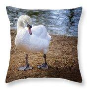 My Better Side Throw Pillow