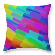 My Box Of Color Throw Pillow