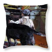 My Boy Throw Pillow