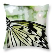 My Butterfly Throw Pillow