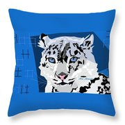 My Cat Throw Pillow