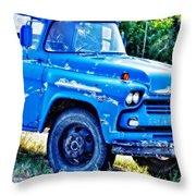 My Chevrolet Throw Pillow