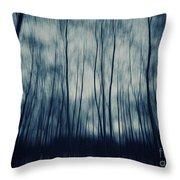 My Dark Forest Throw Pillow