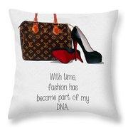 My Dna Throw Pillow