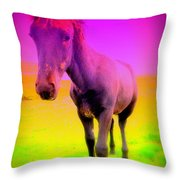 My Dream Comes Through And It's A Little Friend  Throw Pillow