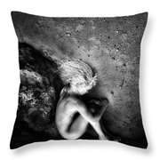 My Earth Birth  Throw Pillow
