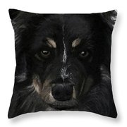 My Favorite Bud Throw Pillow by Sharon Duguay