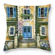 My French Villa Throw Pillow