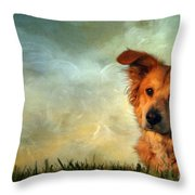 My Girl Throw Pillow