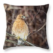 My Good Side Square Throw Pillow