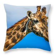 My Good Side Throw Pillow