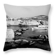 My Greek Oasis Throw Pillow