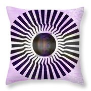My Head Spins Throw Pillow