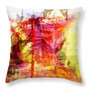 My Heart Belongs To You Ocean Throw Pillow by PainterArtist FIN