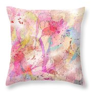 My Imaginary Friends Throw Pillow