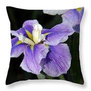 My Iris II Throw Pillow