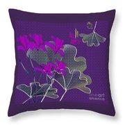 My Irises Throw Pillow
