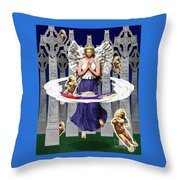 My Irish Angel Throw Pillow