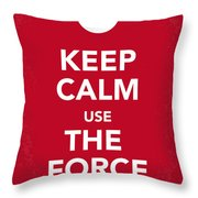 My Keep Calm Star Wars - Rebel Alliance-poster Throw Pillow