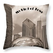 My Kind Of Town Throw Pillow