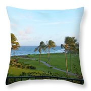 My Kind Of View Throw Pillow