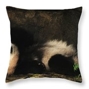 My Life In The Grotto Throw Pillow