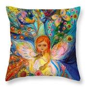 My Little Fairy Caren Throw Pillow