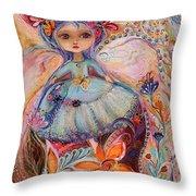 My Little Fairy Malvina Throw Pillow