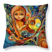 My Little Mermaid Betsy Throw Pillow