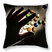 My Little Planets Series - The Beggining Throw Pillow