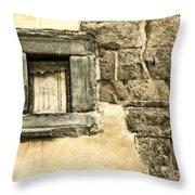 My Little Window Throw Pillow
