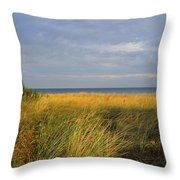 My Love Awaits Me By The Sea Throw Pillow