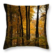 My Love For October Throw Pillow
