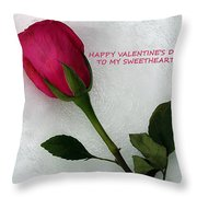 My Love To Keep You Warm Throw Pillow