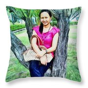 My Lovely Wife Throw Pillow