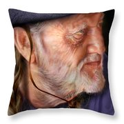 My Man Willie Throw Pillow