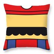 My Mariobros Fig 01 Minimal Poster Throw Pillow