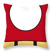 My Mariobros Fig 05a Minimal Poster Throw Pillow by Chungkong Art