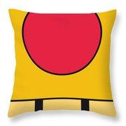 My Mariobros Fig 05c Minimal Poster Throw Pillow by Chungkong Art