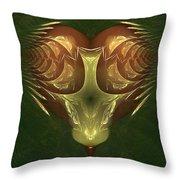 My Mechanical Mantis Throw Pillow