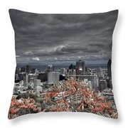 My Montreal's Colors Throw Pillow