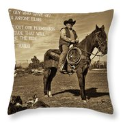 My Motivation Throw Pillow