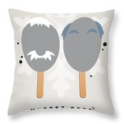 My Muppet Ice Pop - Statler And Waldorf Throw Pillow