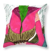 My New Outfit Throw Pillow