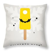 My Nintendo Ice Pop - Wario Throw Pillow by Chungkong Art