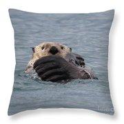 My Otter Throw Pillow